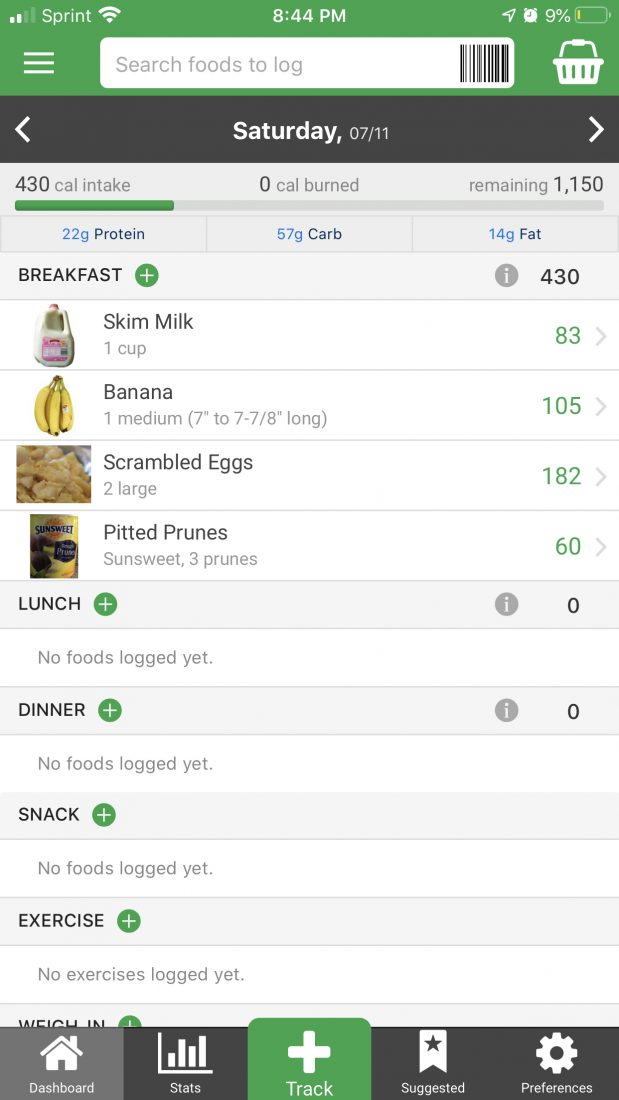 The Best App for Calorie Counting